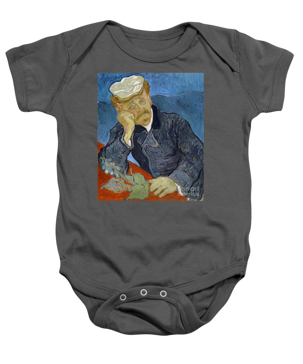 1890 Baby Onesie featuring the photograph Van Gogh Dr Gachet by Granger