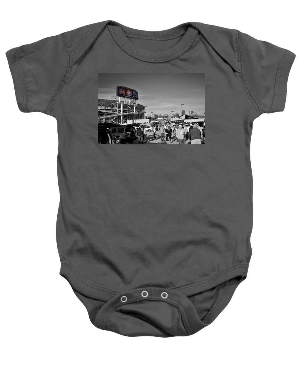Vols Baby Onesie featuring the photograph VFL by David Zarecor