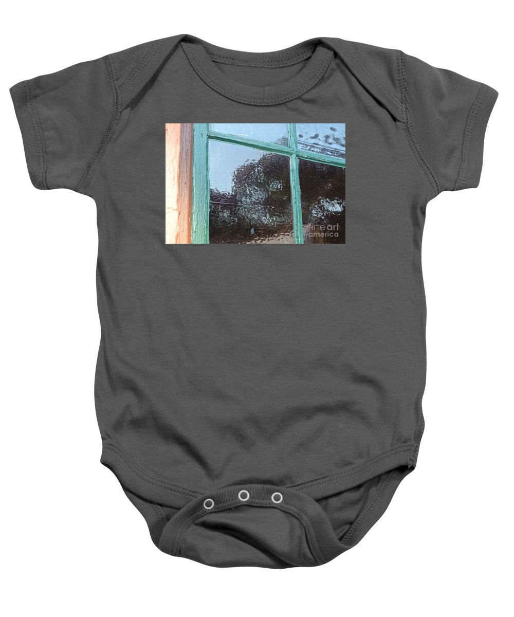 Old Baby Onesie featuring the photograph Wavy by Charlotte Stevenson