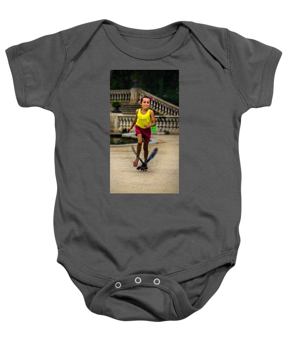When We Were Young Baby Onesie featuring the photograph When We Were Young.. by Sotiris Filippou