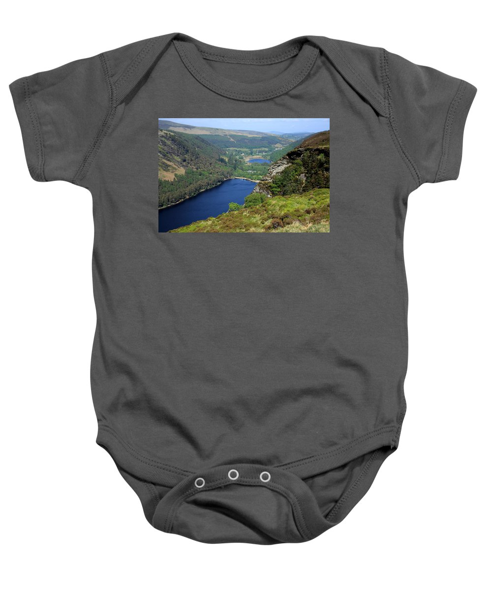 Ireland Baby Onesie featuring the photograph Wicklow Mountains by Aidan Moran