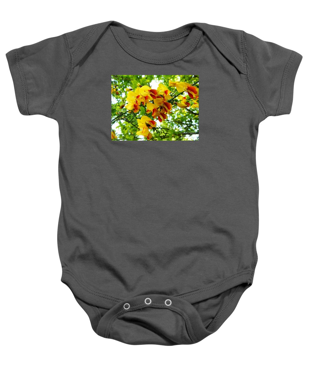 Floral Baby Onesie featuring the photograph Wild And Beautiful by Loreta Mickiene