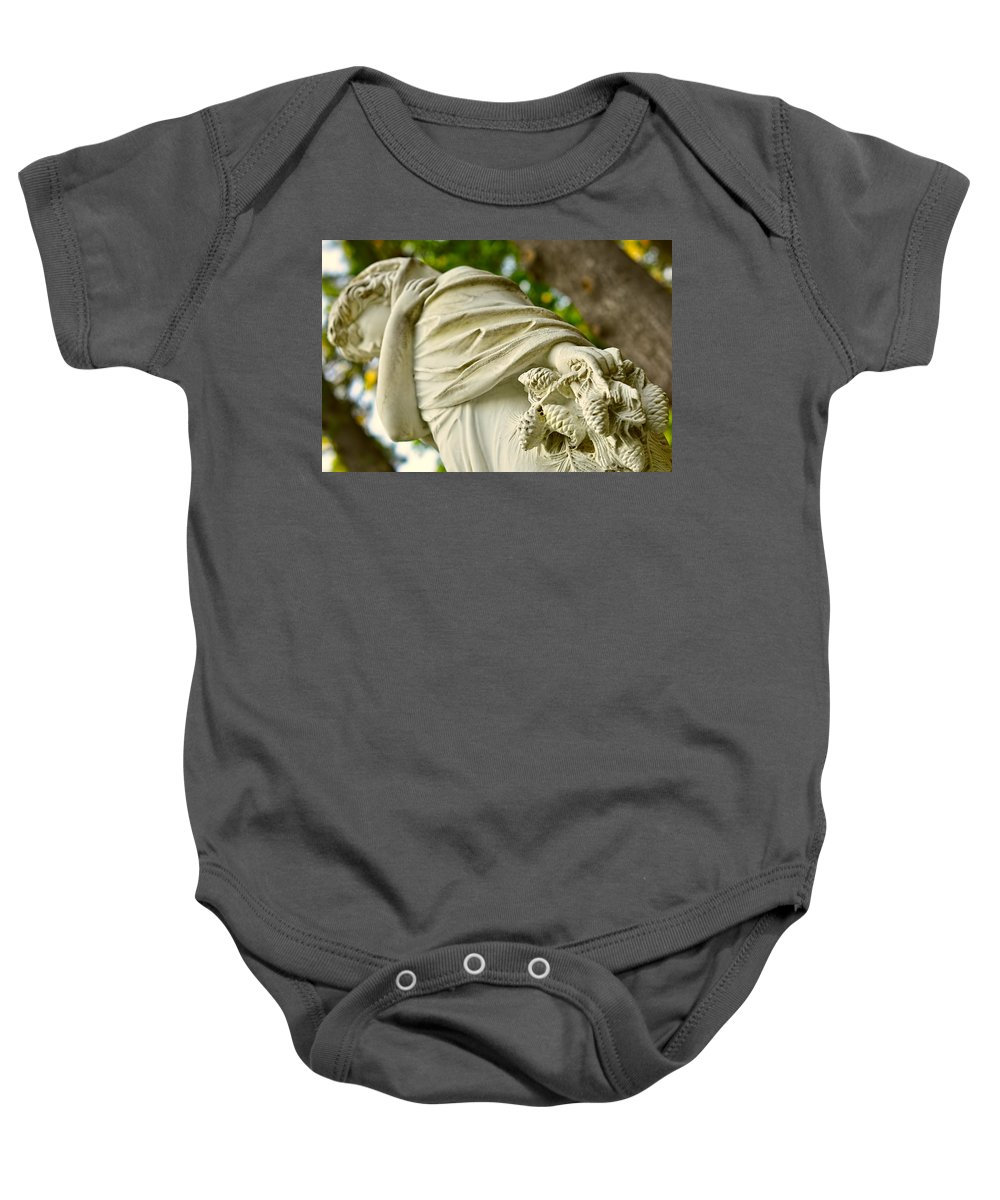 Landscape Baby Onesie featuring the photograph Yaddo Season 4 by Tina Baxter