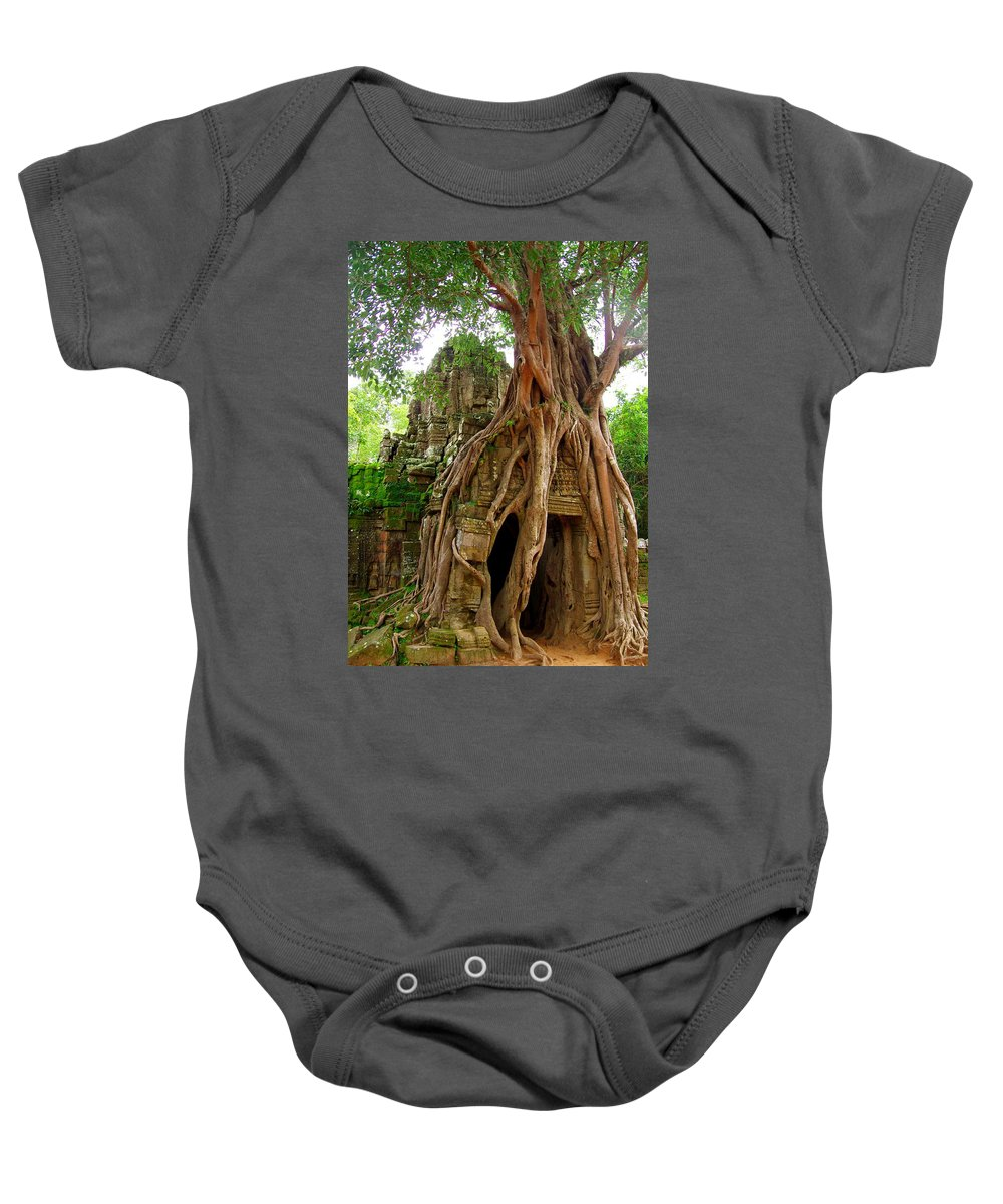 Landscape Baby Onesie featuring the photograph You Shall Not Pass by Tom Maimran