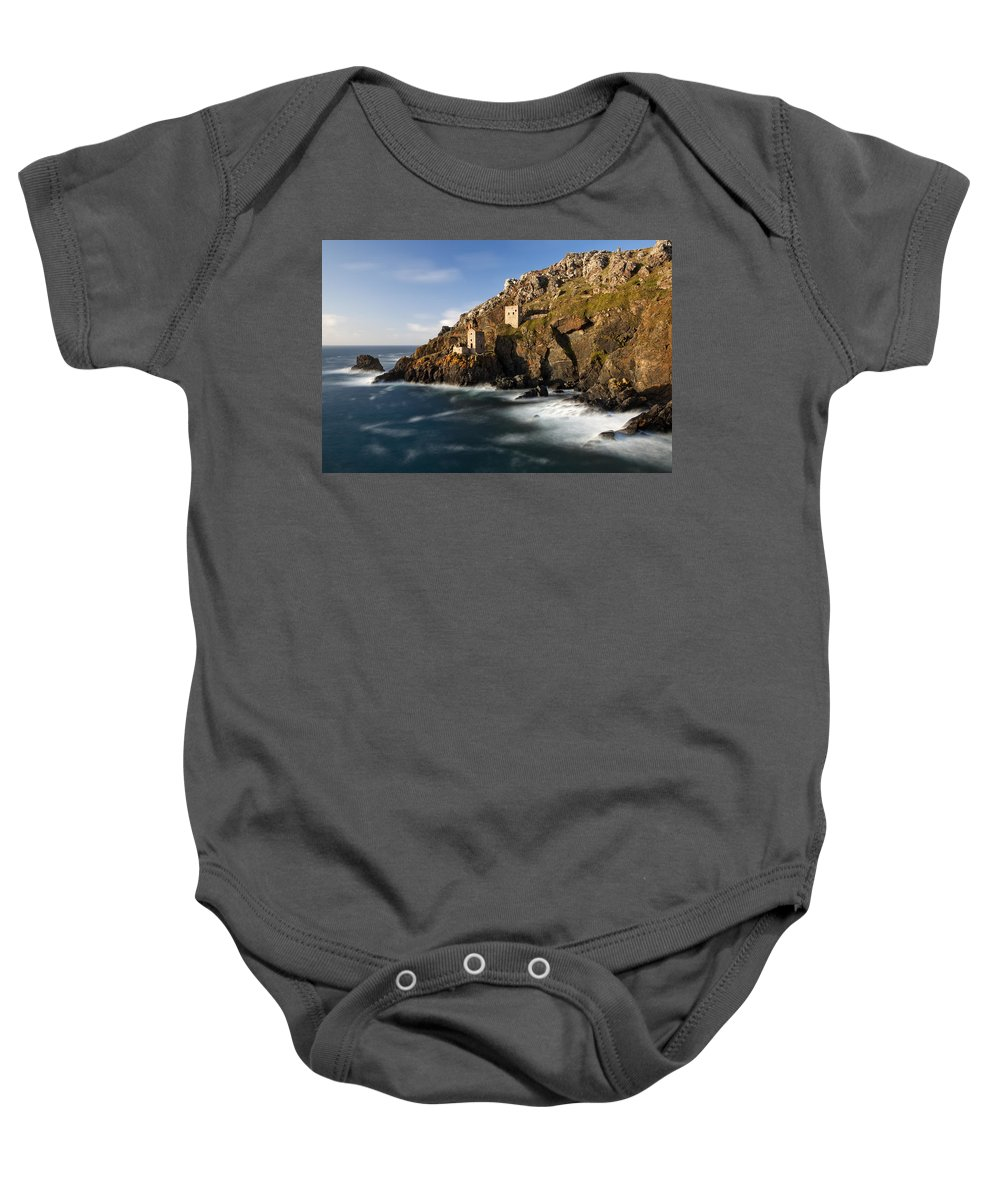 England Baby Onesie featuring the photograph Cornwall by Sebastian Wasek