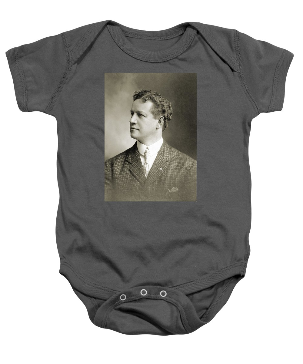 1900 Baby Onesie featuring the photograph Charles H. Ebbets (1859-1925) by Granger