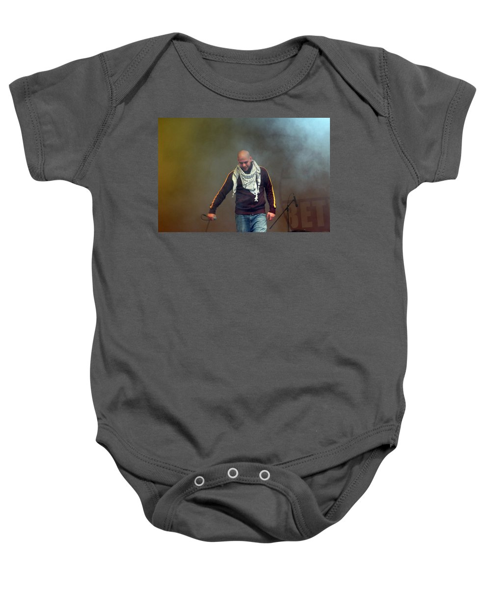 Danny Baby Onesie featuring the photograph Danny Fresh by Munir Alawi