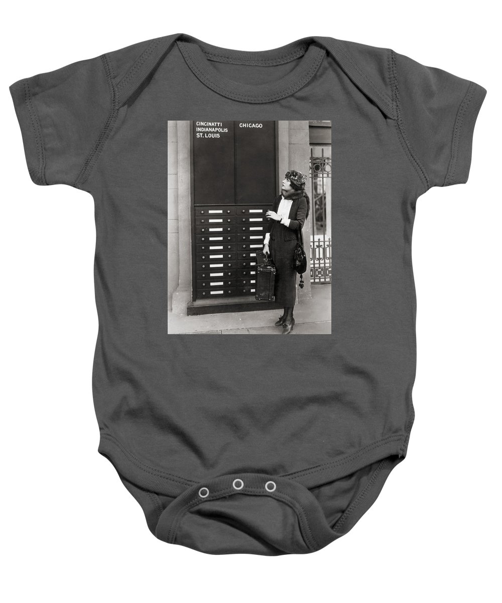 -transportation: Misc- Baby Onesie featuring the photograph Film: Transportation: Misc by Granger