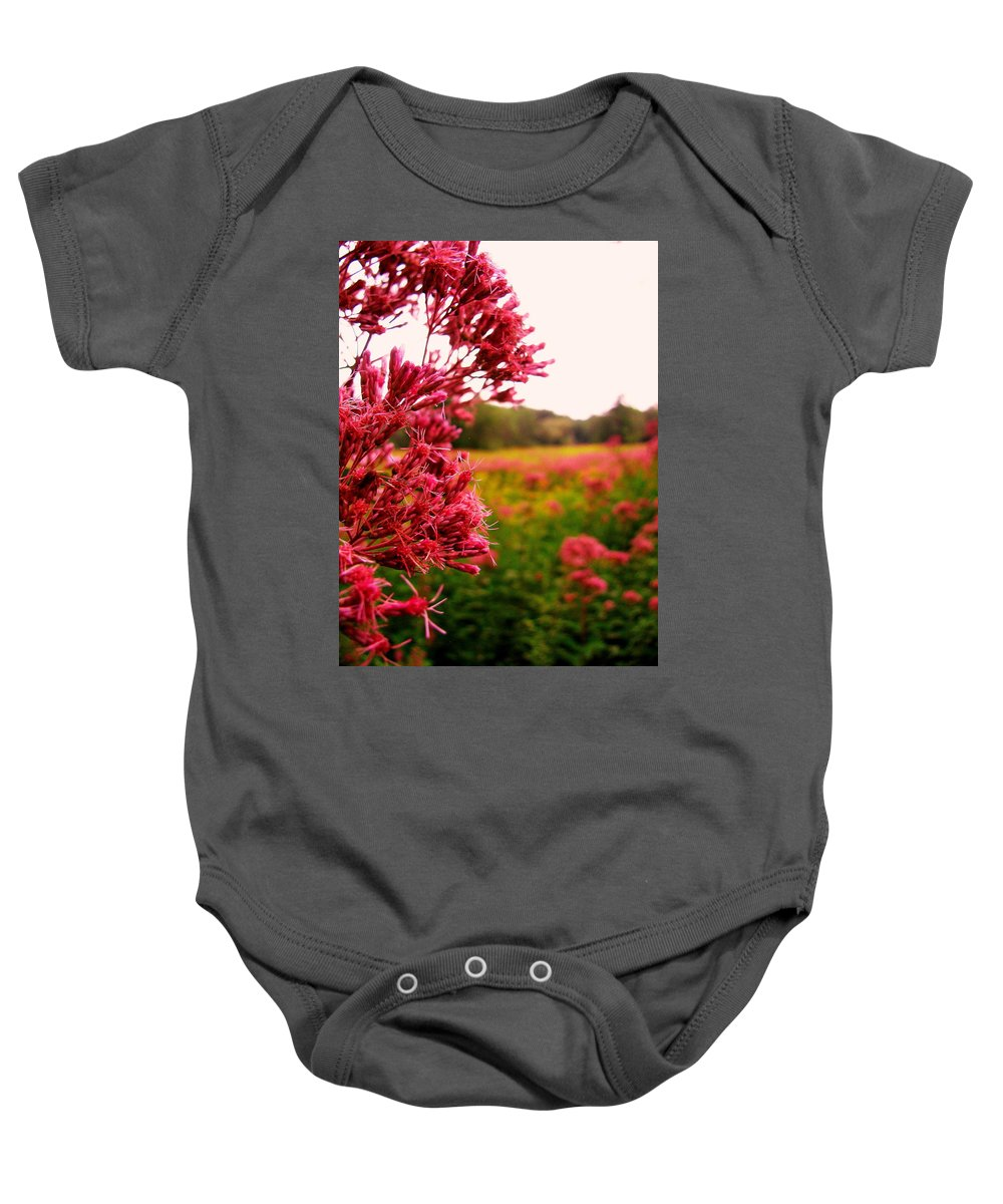 Flower Baby Onesie featuring the photograph Meadow by Jeff Heimlich