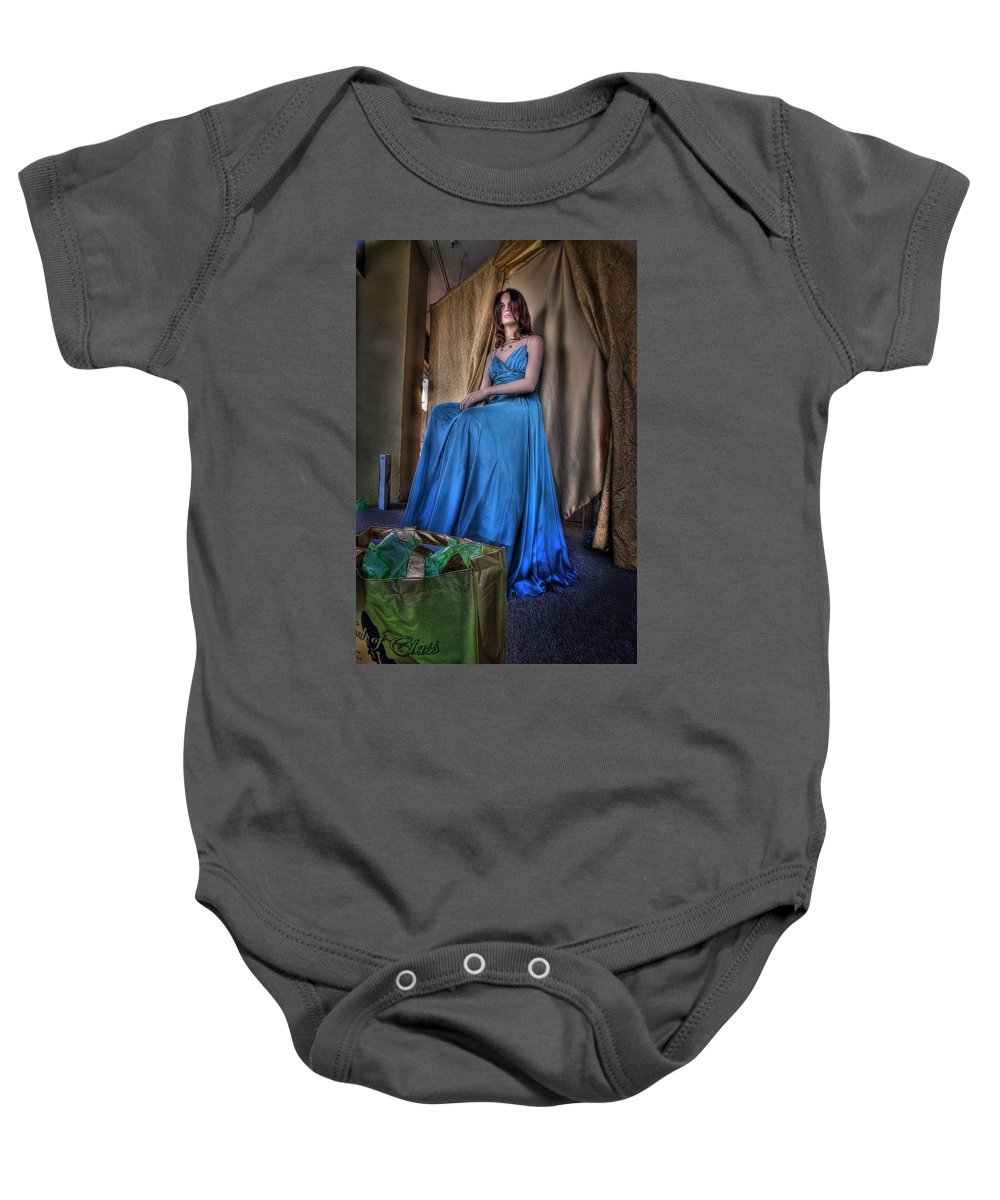 Acrylic Prints Baby Onesie featuring the photograph Shabby Genteel by John Herzog