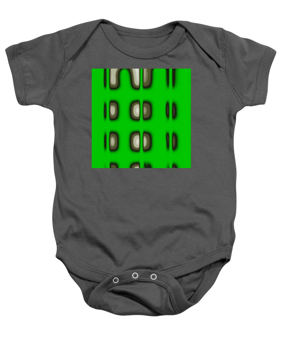 Digital Graphic Baby Onesie featuring the digital art Follow The Lights by Mihaela Stancu