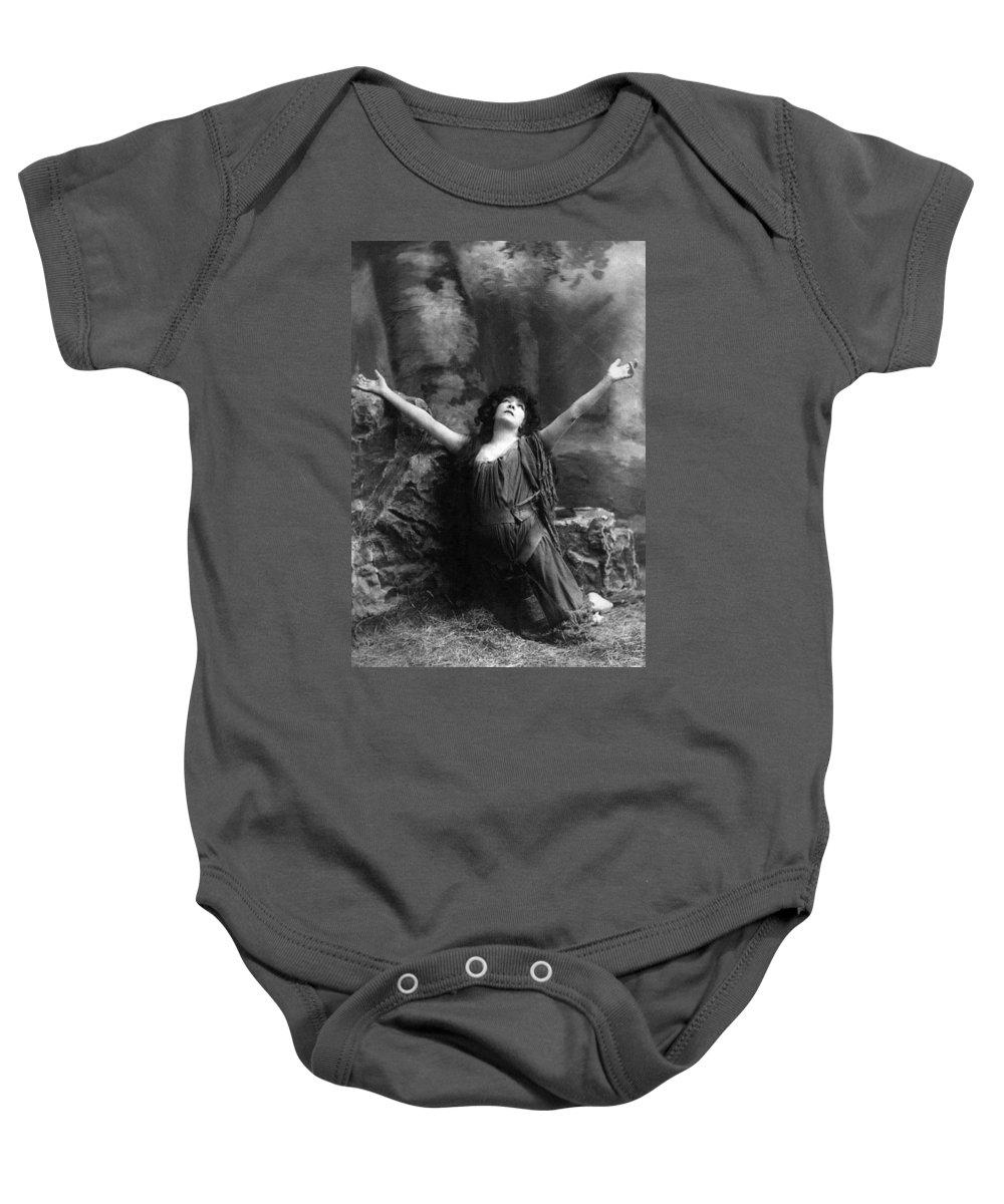 1892 Baby Onesie featuring the photograph Sarah Bernhardt (1844-1923) by Granger