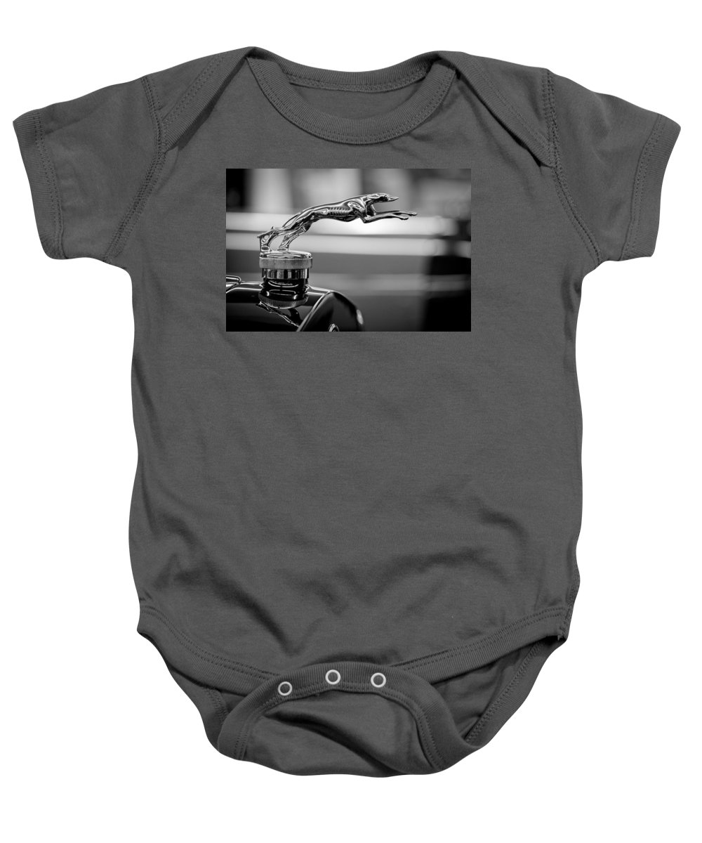 1925 Lincoln Town Car Hood Ornament Onesie For Sale By Sebastian Musial