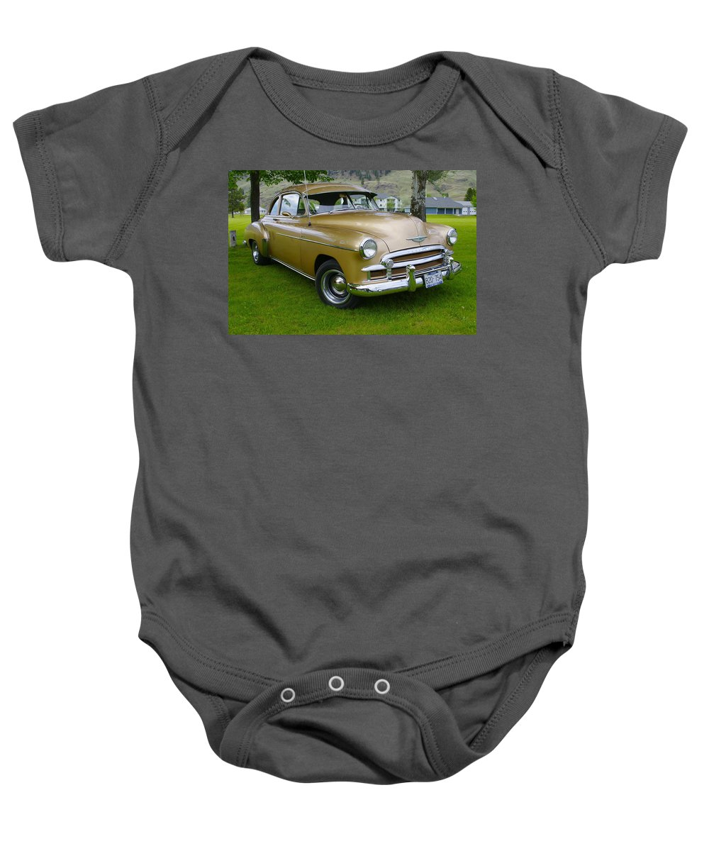 1950 Baby Onesie featuring the photograph 1950 Chevrolet by John Greaves