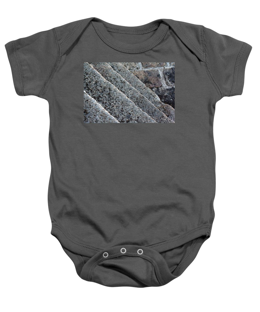 Stone Stairs Baby Onesie featuring the photograph Misc 0006 by Carol Ann Thomas