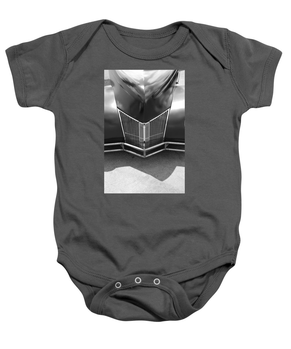 Hot Rod Baby Onesie featuring the photograph Hot Rod Grill by Rob Hans