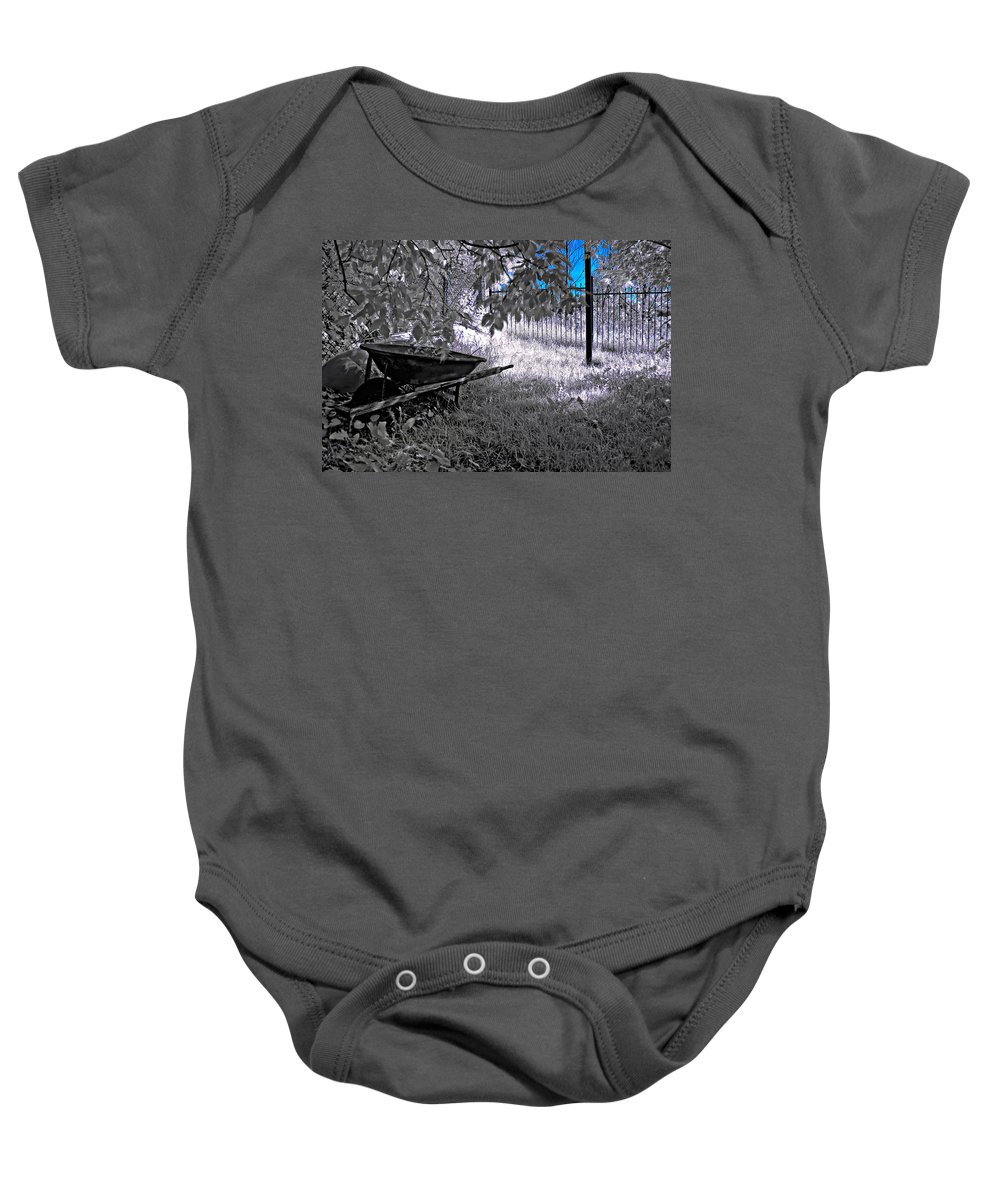 Infrared Baby Onesie featuring the photograph A Summer Dream by Steve Harrington