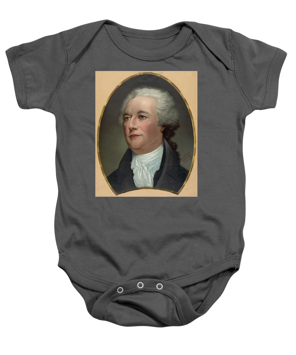 alexander Hamilton Baby Onesie featuring the photograph Alexander Hamilton by International Images