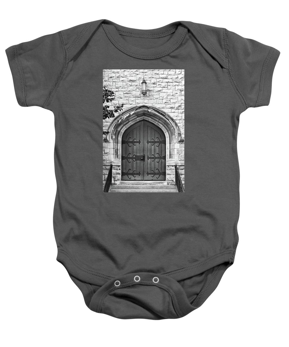 Buildings Baby Onesie featuring the photograph All Saints 8333 by Guy Whiteley