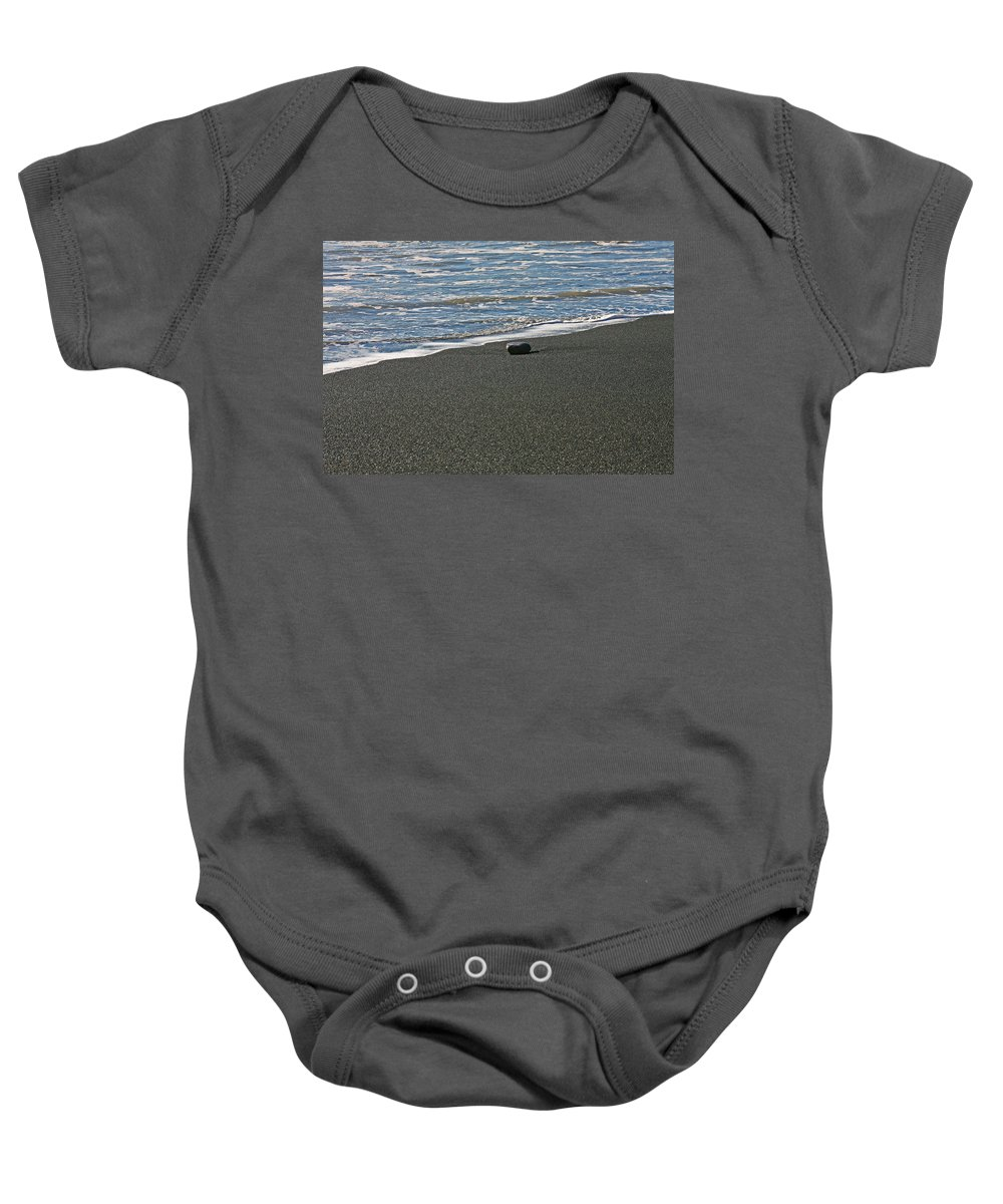 Beach Baby Onesie featuring the photograph Alone by Ralf Kaiser