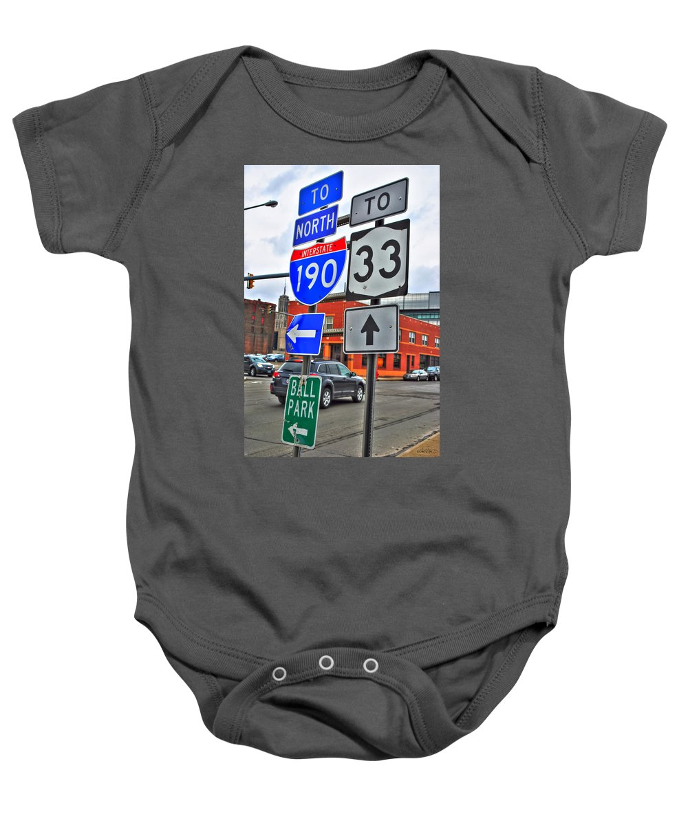 Baby Onesie featuring the photograph Are We There Yet by Michael Frank Jr