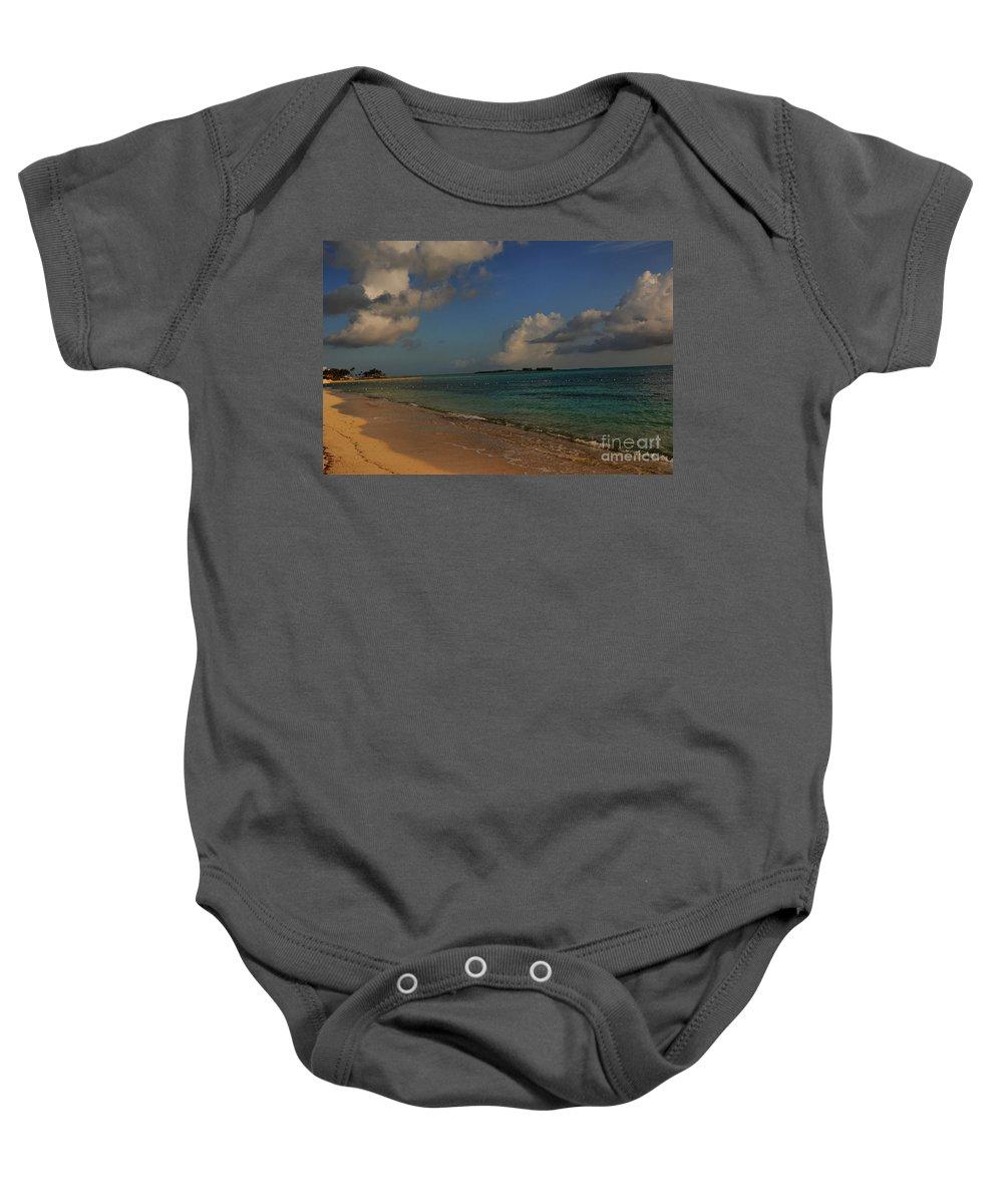 Bahama Baby Onesie featuring the photograph Bahama Ocean View by Nancie DeMellia