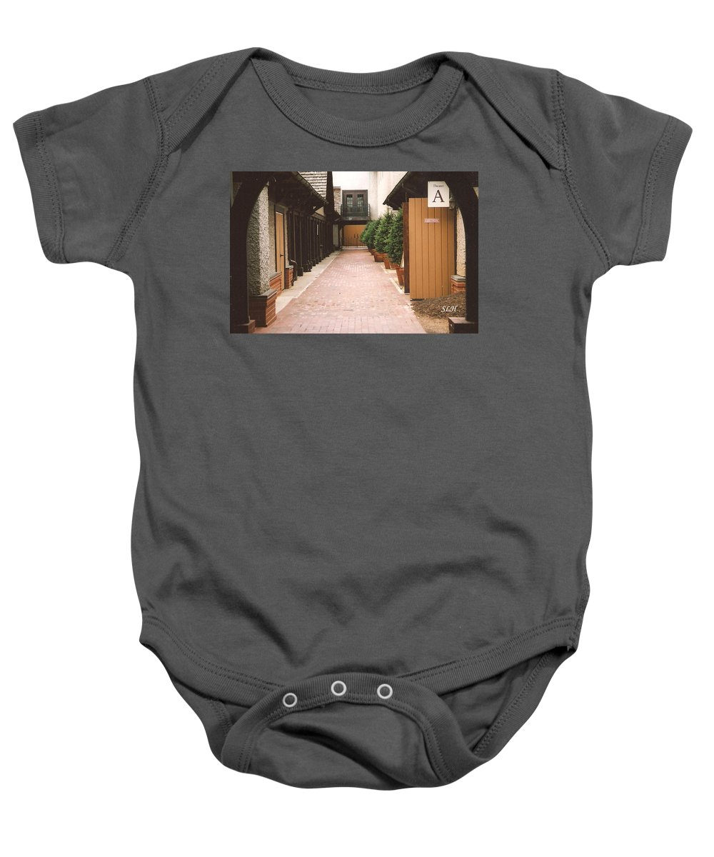Winery Baby Onesie featuring the photograph Biltmore Winery by Lee Hartsell