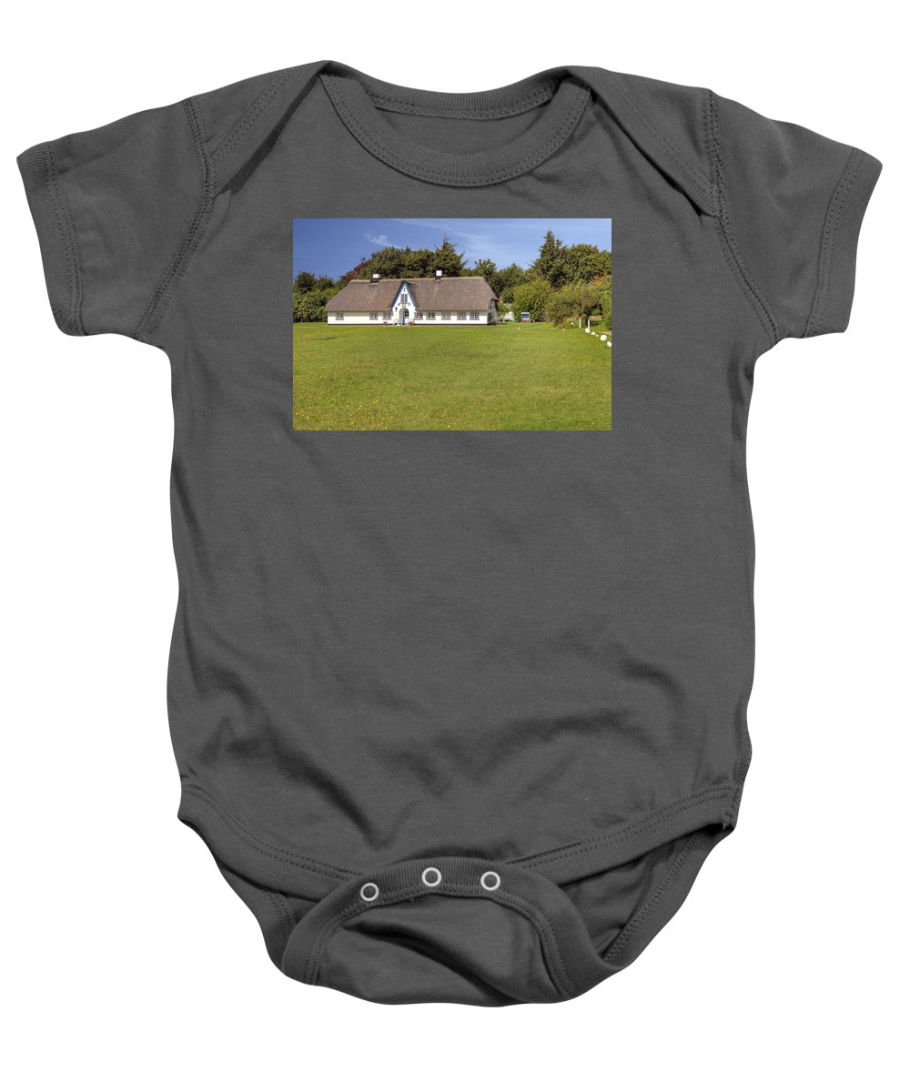 Frisian House Baby Onesie featuring the photograph Braderup - Sylt by Joana Kruse