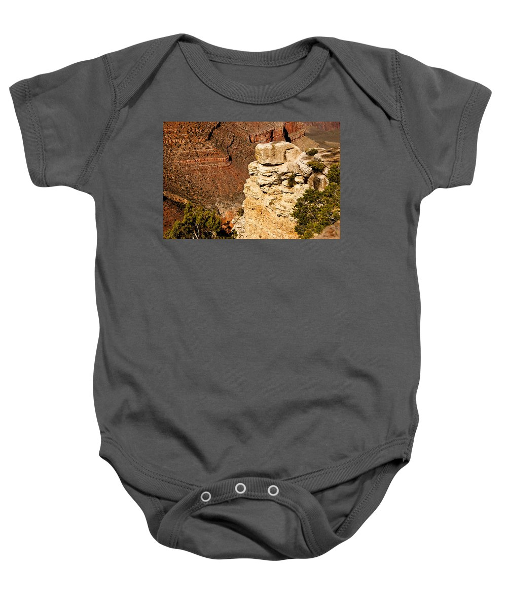 Grand Canyon Baby Onesie featuring the photograph Canyon View V by Jon Berghoff