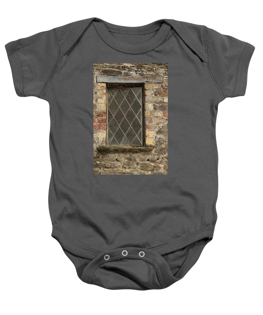 Window Baby Onesie featuring the photograph City 0012 by Carol Ann Thomas