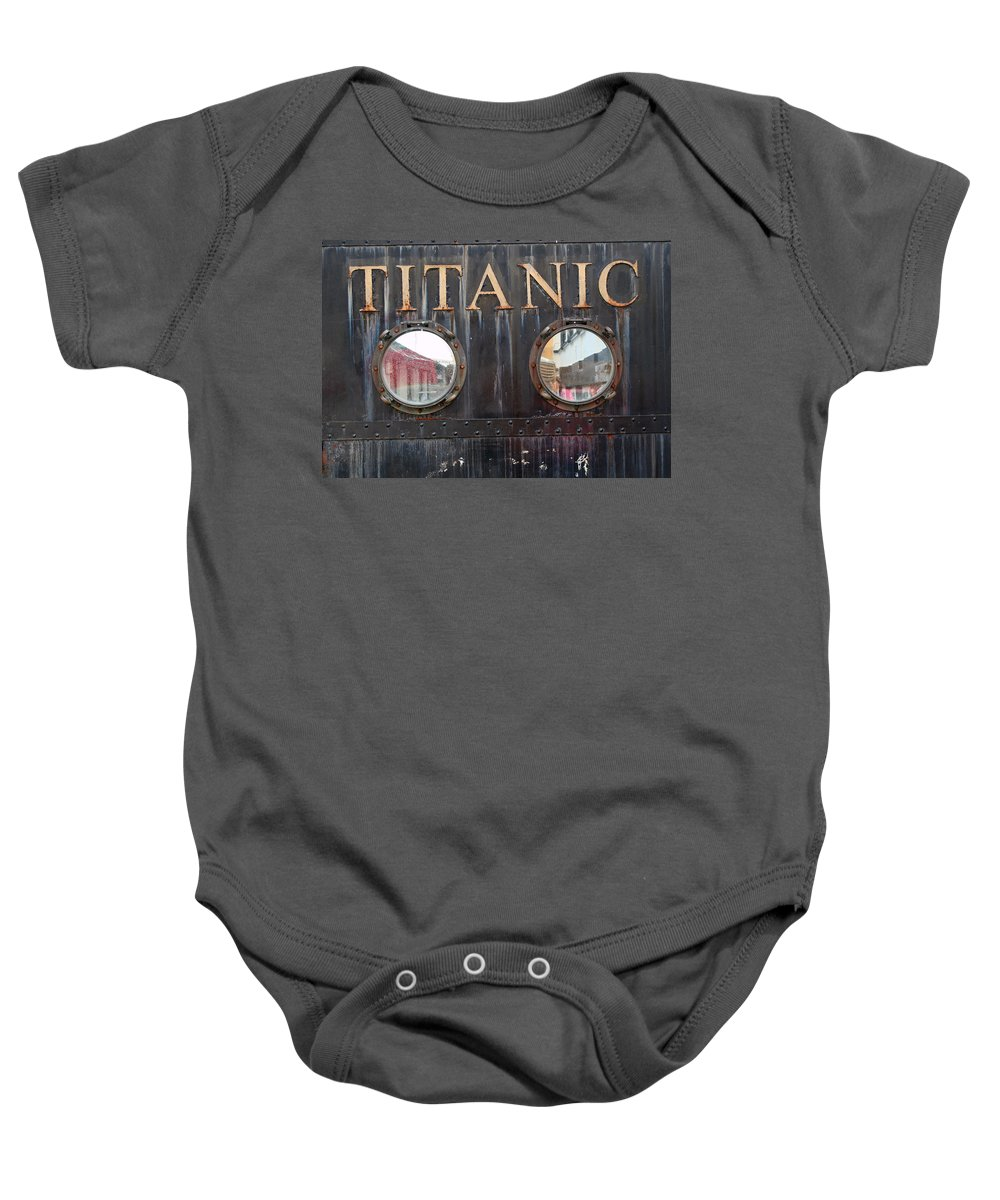 Cobh Baby Onesie featuring the photograph City 0024 by Carol Ann Thomas