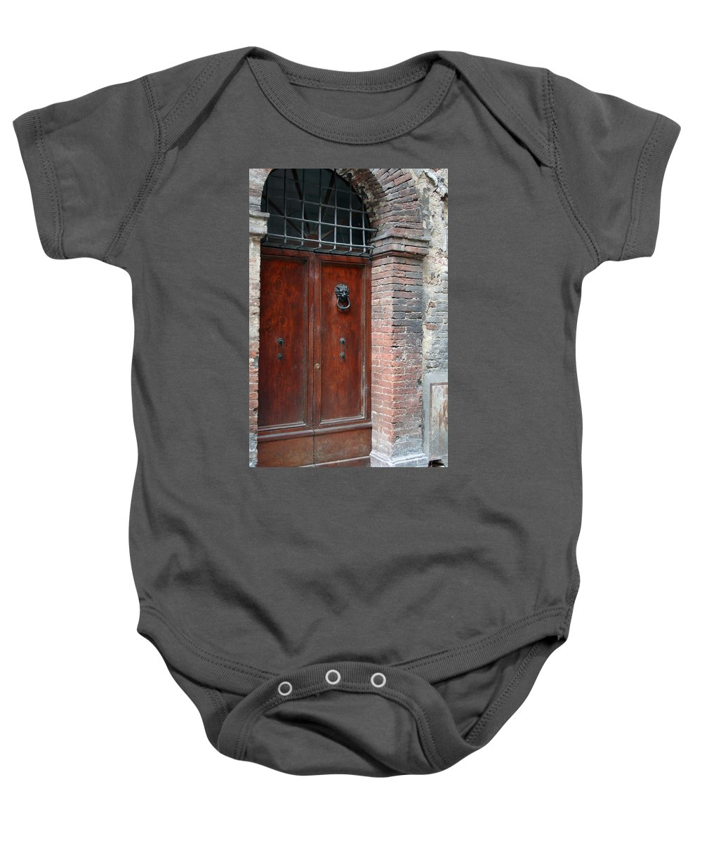 Italy Baby Onesie featuring the photograph City 0055 by Carol Ann Thomas