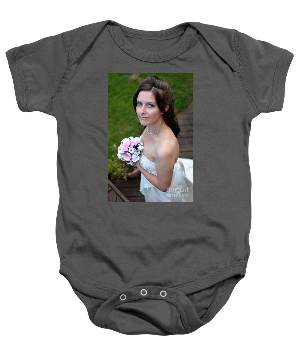 Yhun Suarez Baby Onesie featuring the photograph Claire1 by Yhun Suarez