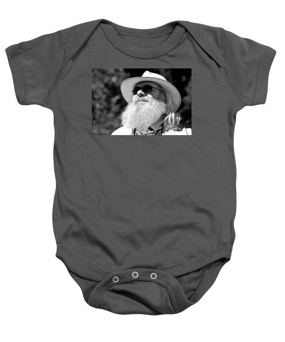 Beard Baby Onesie featuring the photograph Classic Beard by Eric Tressler