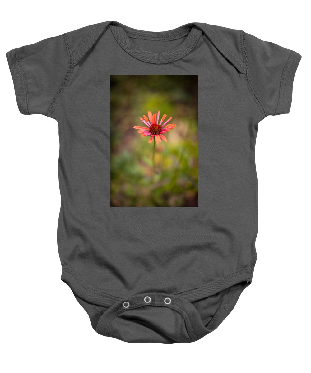 Flower Baby Onesie featuring the photograph Colorful Stand by Mike Reid