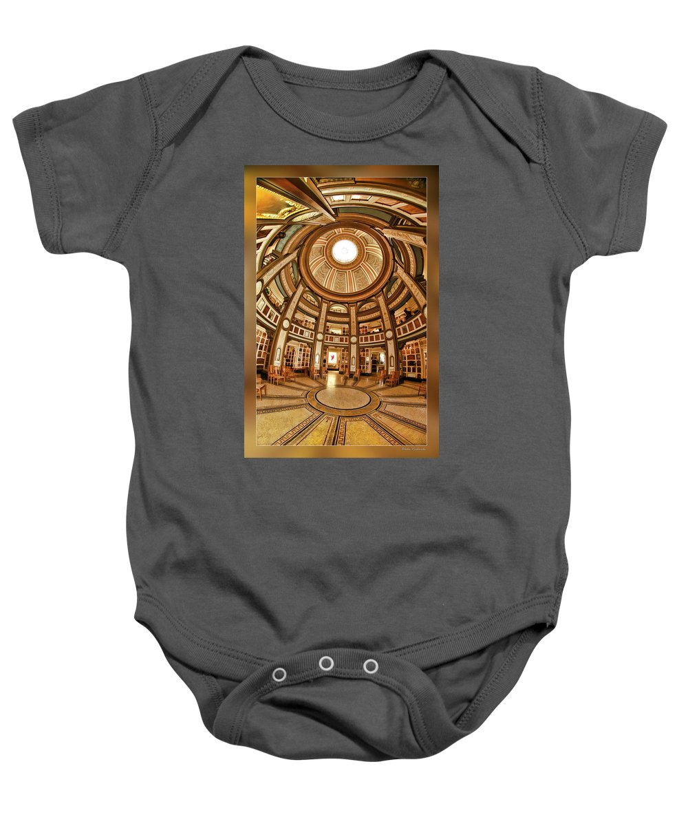 San Francisco Baby Onesie featuring the photograph Colvmbarivm Main Room by Blake Richards