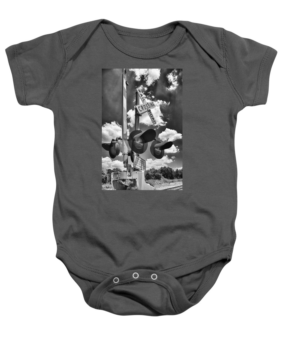 Bellville Tx Baby Onesie featuring the photograph Crossing At Rt 36 13989b by Guy Whiteley