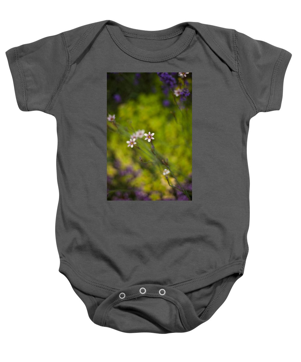 Flower Baby Onesie featuring the photograph Delicate Flowers by Mike Reid