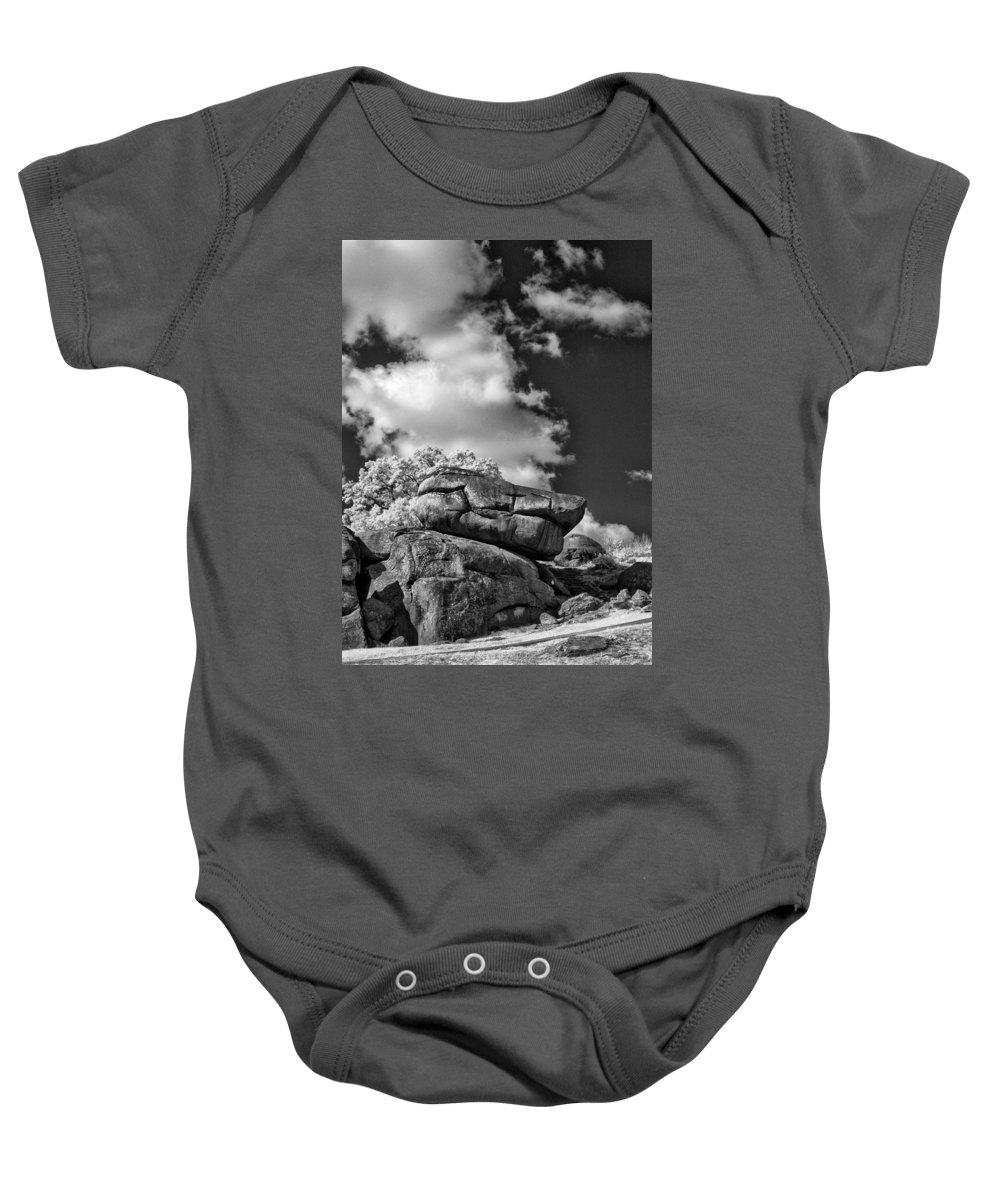 Infrared Baby Onesie featuring the photograph Devil's Den - 33 by Paul W Faust - Impressions of Light
