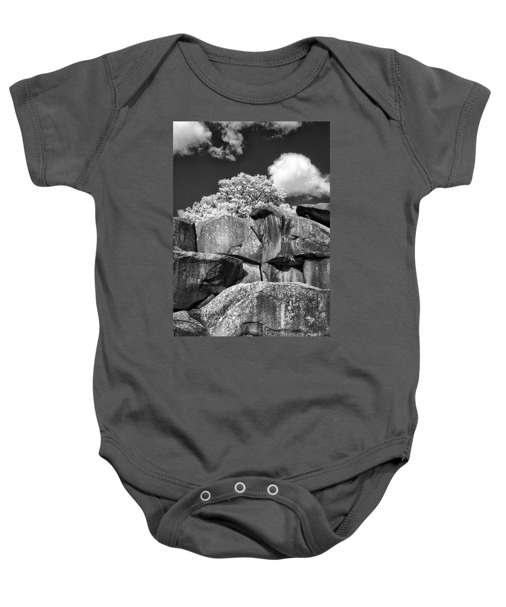 Infrared Baby Onesie featuring the photograph Devil's Den - 39 by Paul W Faust - Impressions of Light