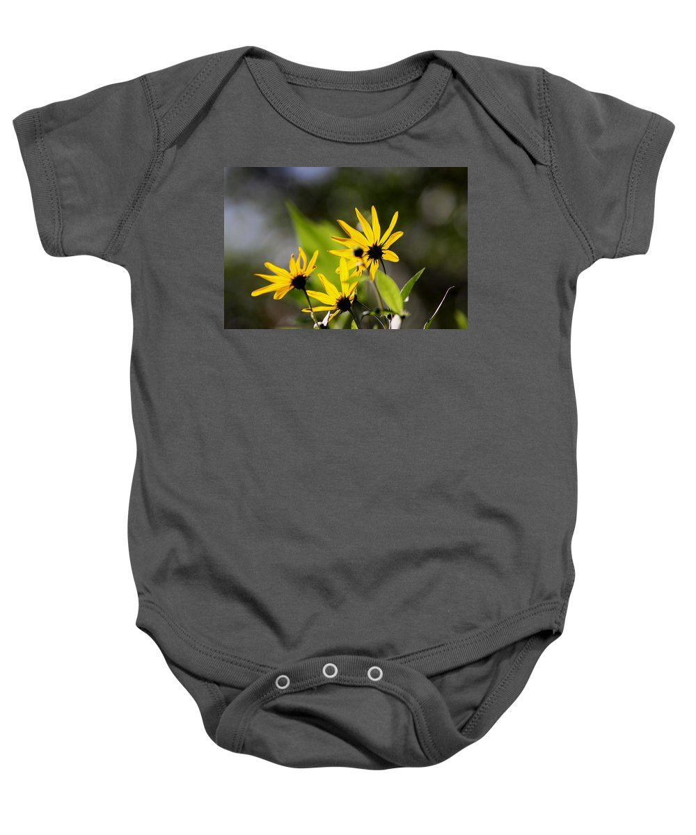 Flower Baby Onesie featuring the photograph Different Angle by Travis Truelove