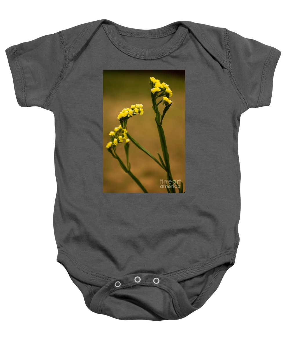 Flower Baby Onesie featuring the photograph Distinctive Look by Syed Aqueel