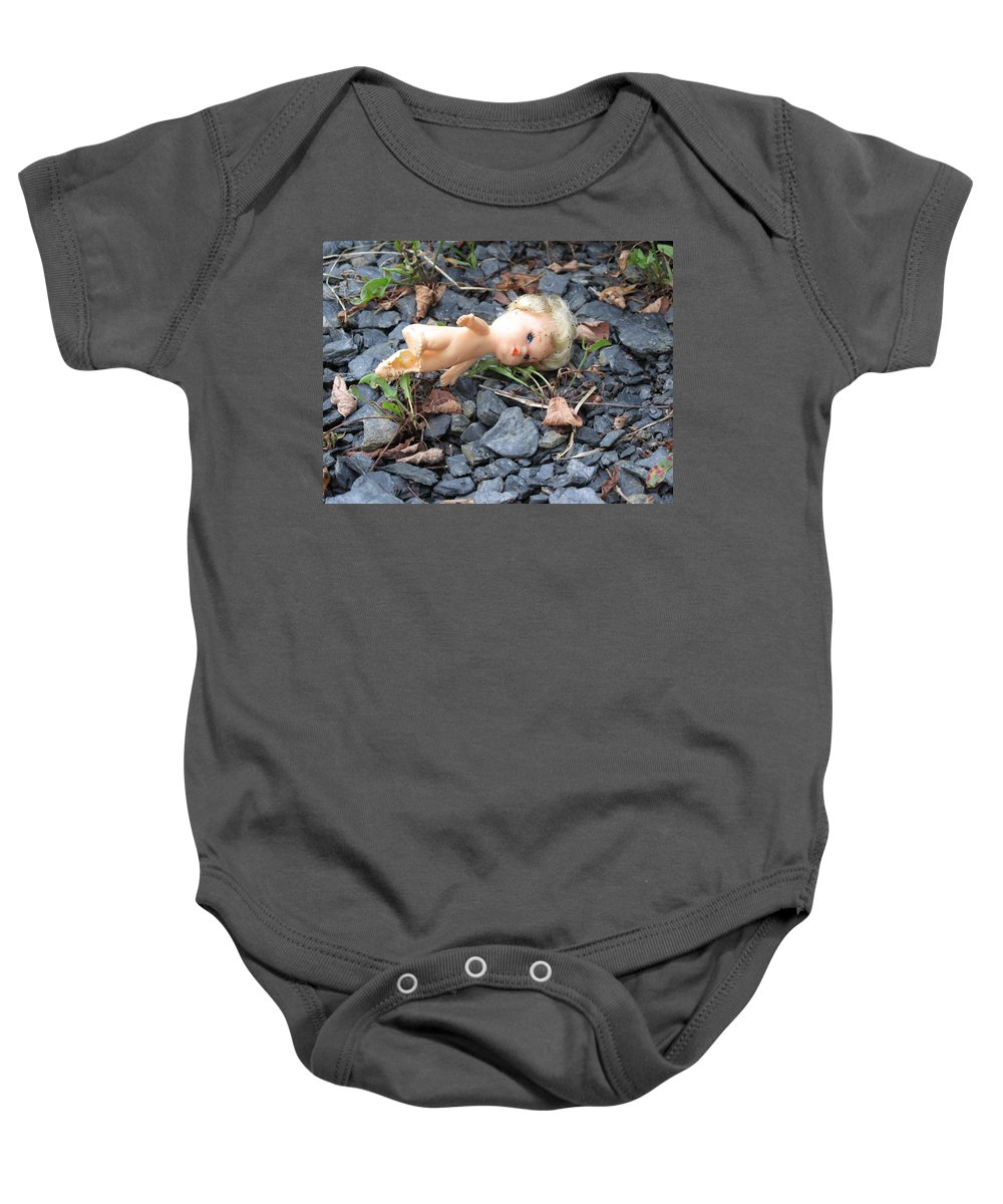 Doll Baby Onesie featuring the photograph Dolly by Michele Nelson