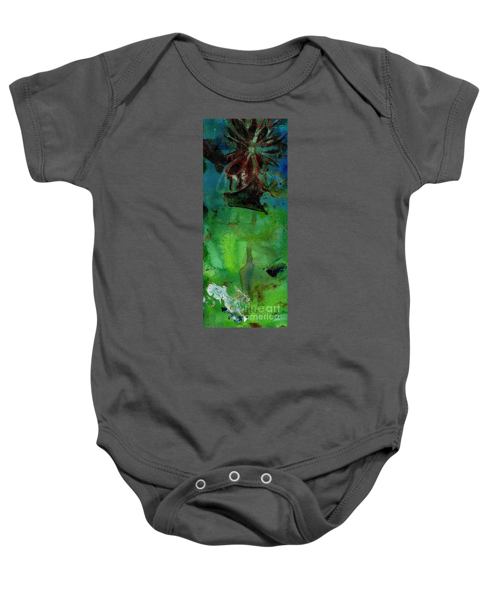 Acrylic Baby Onesie featuring the painting Dreaming Of My Trip To Index II by Angela L Walker