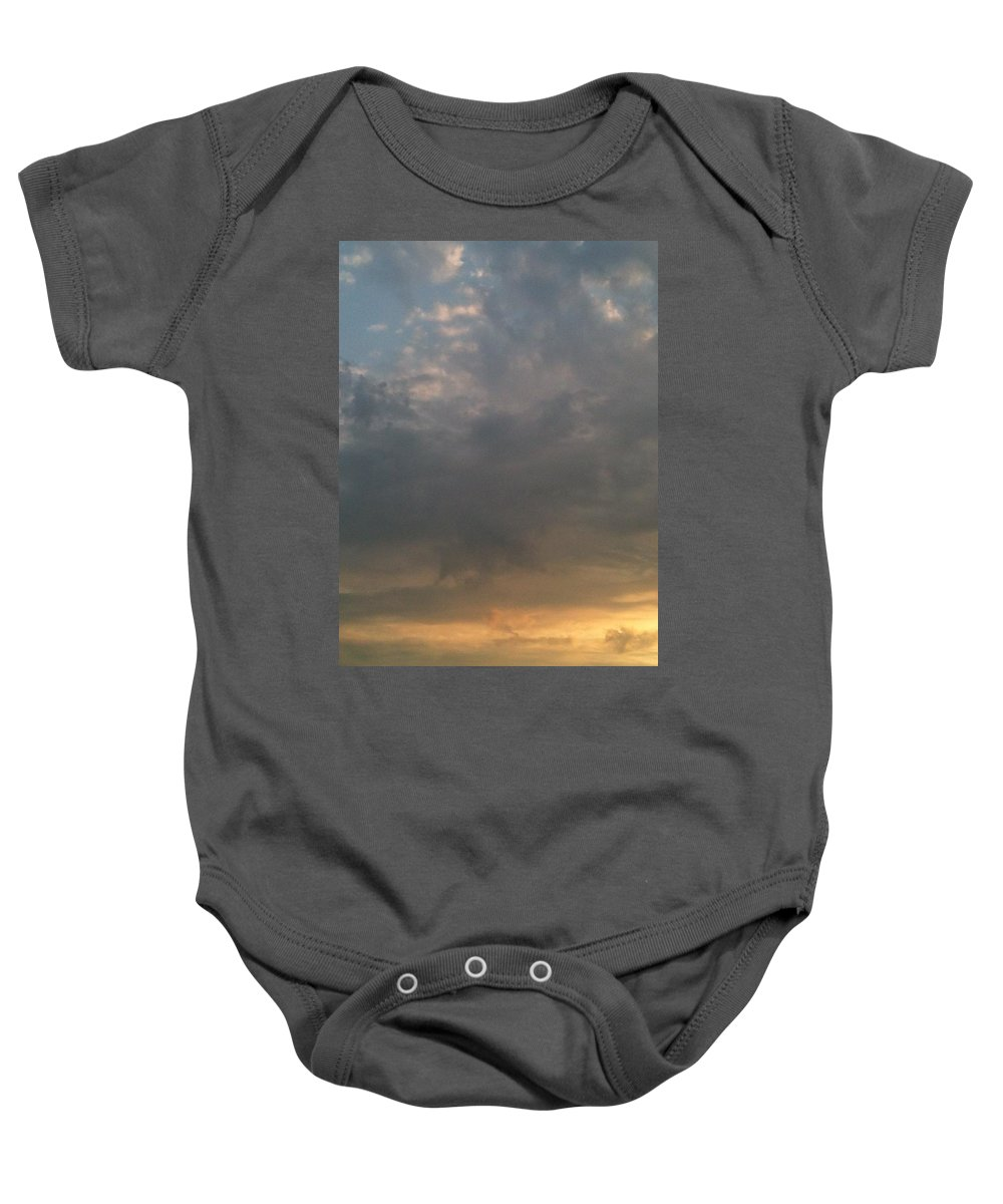 Sunset Baby Onesie featuring the photograph Ethereal by Valerie Nolan