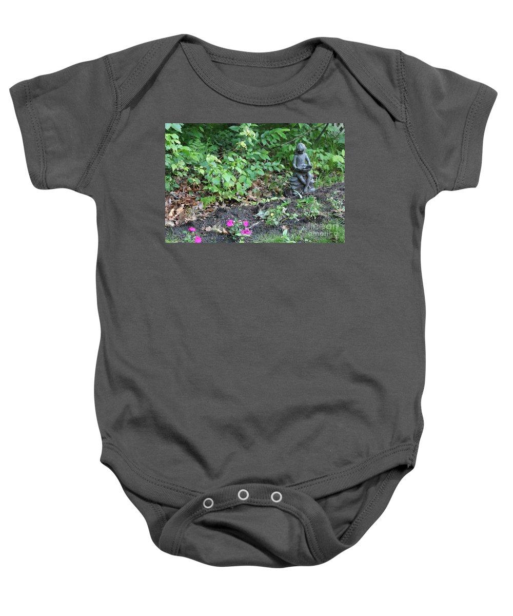 Fairy Baby Onesie featuring the photograph Fairy Garden by Stephanie Kripa