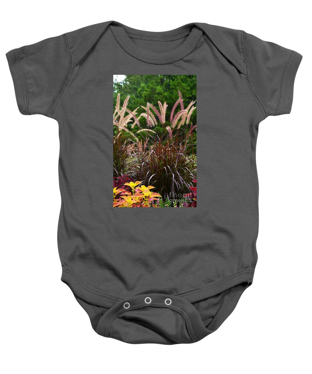Flora Baby Onesie featuring the photograph Flora 8 by Maria Urso