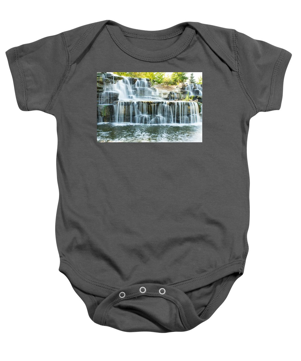 Bay Beach Wildlife Sanctuary Baby Onesie featuring the photograph Flowing Beauty by Bill Pevlor