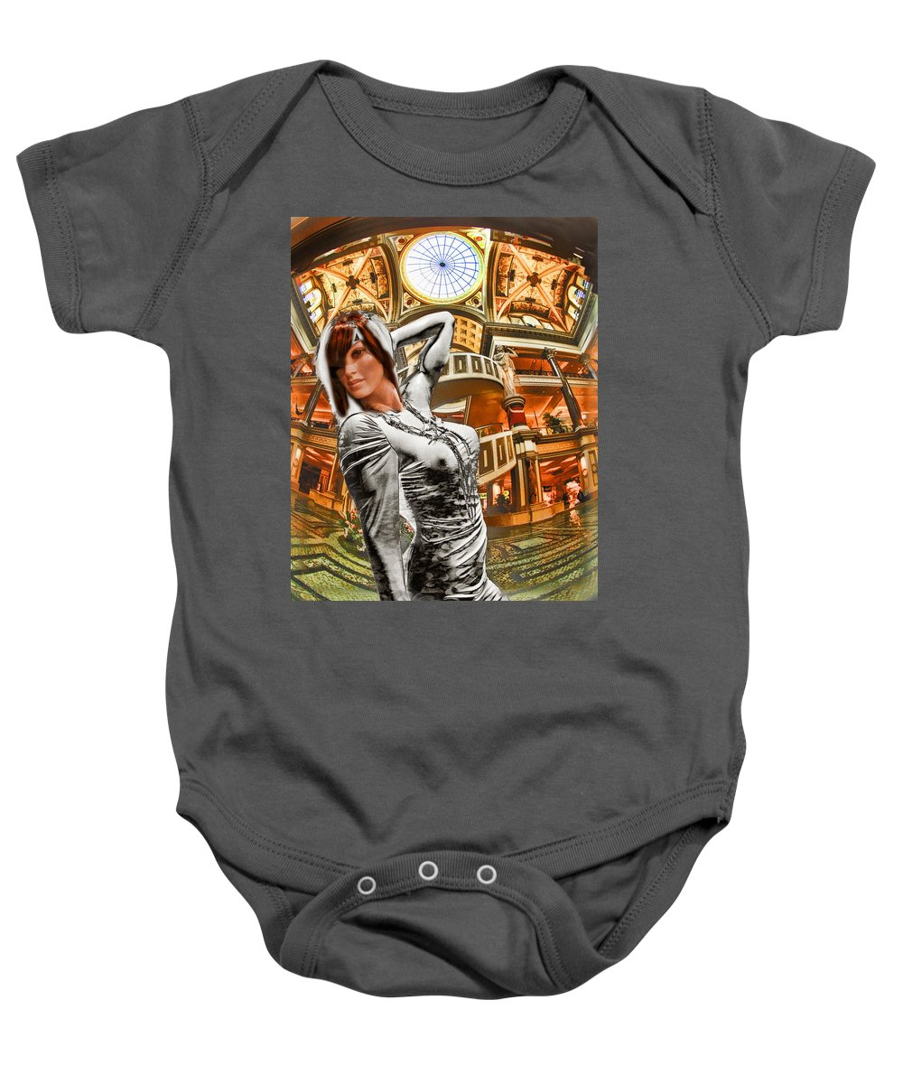 Art Photography Baby Onesie featuring the photograph Go Go Girl by Blake Richards