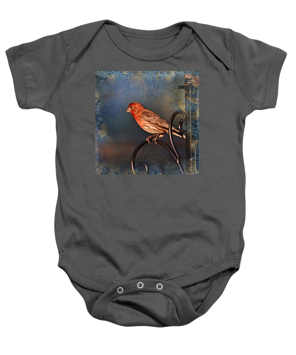 Nature Baby Onesie featuring the photograph Good Moning Sunshine I by Debbie Portwood
